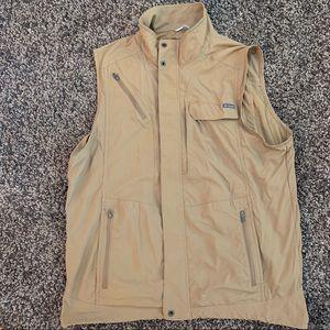 Columbia omnishade sun protection vest zip
